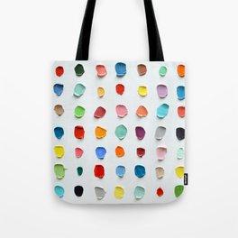 Infinite Polka Daubs 2 Tote Bag