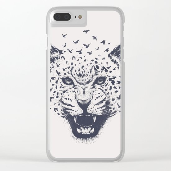 Nature´s Roar Clear iPhone Case
