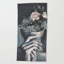 inner garden Beach Towel