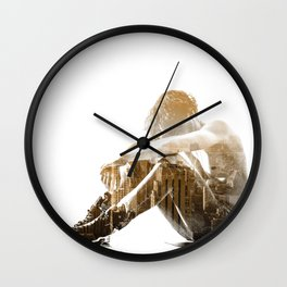 Desertion Wall Clock