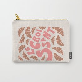 Le Croissant French Carry-All Pouch