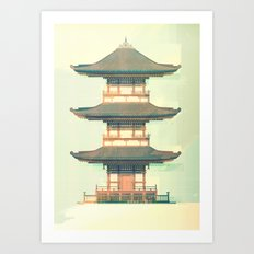 Temple No.2 Art Print