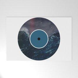Vinyl Record Art & Design   Stormy Ocean Welcome Mat