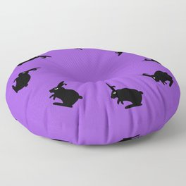 Angry Animals: Bunny Floor Pillow
