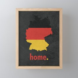 Germany Proud Framed Mini Art Print