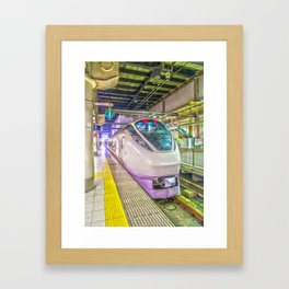 Japanese Express Train Framed Art Print