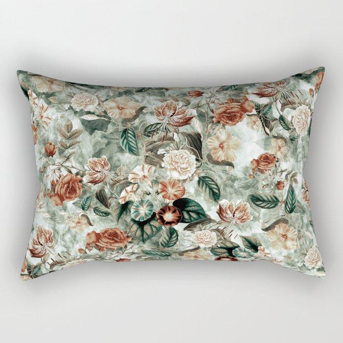 Botanical Garden VII Rectangular Pillow