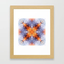 Abstract Kaleidoscope Framed Art Print