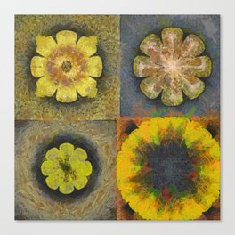 Rancidified Make Flower  ID:16165-054051-44610 Canvas Print
