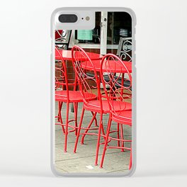 Not Quite Lunchtime Clear iPhone Case