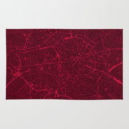 BERLIN GERMANY MAP Rug