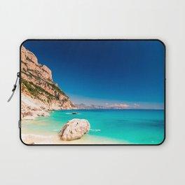 The beautiful Cala Goloritzè in Sardinia Laptop Sleeve