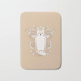 zen owl Bath Mat