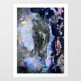 Spazio Cosmico Art Print