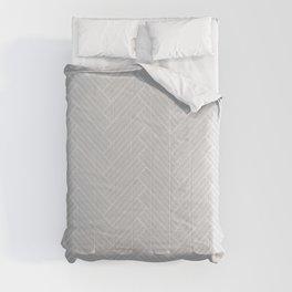 Grey Herringbone Comforters