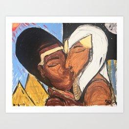 Long Ass Love Story Art Print