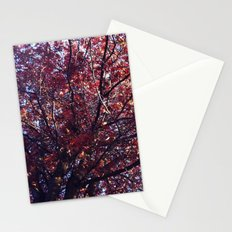 Under the trees - Autumn Stationery Cards
