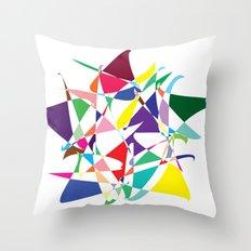 Cosmic Star Throw Pillow