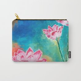 Lotus Lover Carry-All Pouch
