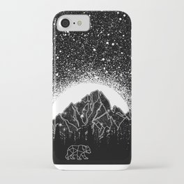 Stars and Lines iPhone Case