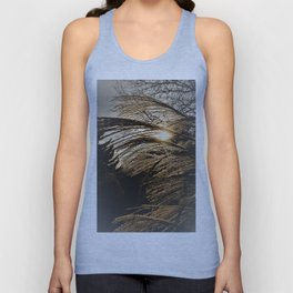 the best arrives in the evening Unisex Tank Top