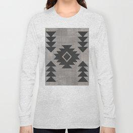 Aztec Tribal Long Sleeve T-shirt