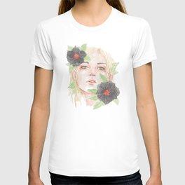 Black Kamboja T-shirt