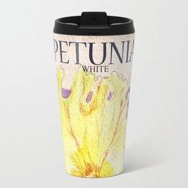 Petunia Seed Packet Travel Mug