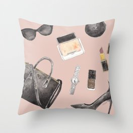 My Style Essentials n.2 Throw Pillow
