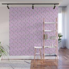 Martini Time in Purple Wall Mural