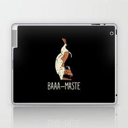 Goat Yoga Design: Baaa Maste I Namaste I Inner Peace I Yogi Laptop & iPad Skin