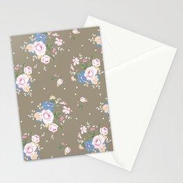 Heirloom Rose - Raw Umber Stationery Cards