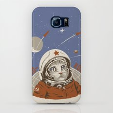 Soviet Space Cat Slim Case Galaxy S7