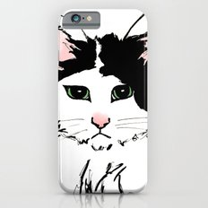 Sadface Cat Sketch Slim Case iPhone 6s