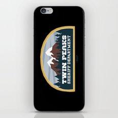 Twin Peaks Sheriff Department (Redux) iPhone & iPod Skin