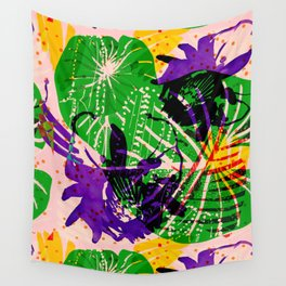 Tropical Mist Wall Tapestry