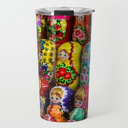 Matryoshka Gang Travel Mug