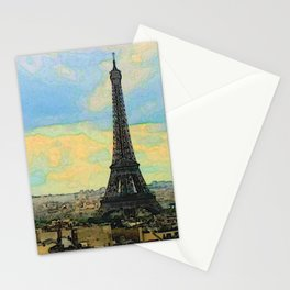 Watercolor Dream of Paris Stationery Cards