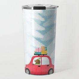 Christmas scene Travel Mug