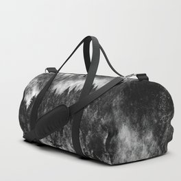 Foggy Forest Abstract Duffle Bag