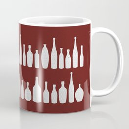 Bottles Red Coffee Mug
