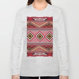 American Native Pattern No. 139 Long Sleeve T-shirt