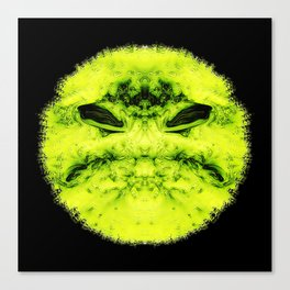 bad smiley Canvas Print