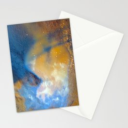 Sky in a puddle... Stationery Cards