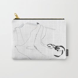 Sloth Mom and Baby Carry-All Pouch