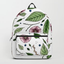 Hanging Among the Flowers & Leaves Backpack