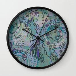 plant bits (cool) Wall Clock