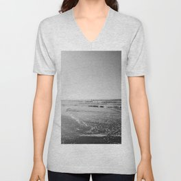 Surfing Monochrome Unisex V-Neck