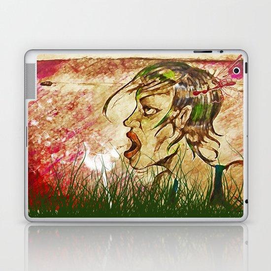 wind girl Laptop & iPad Skin