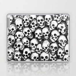 Catacomb Skulls Laptop & iPad Skin